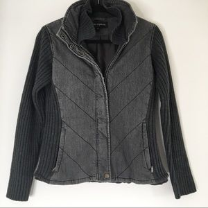 Quilted grey jacket